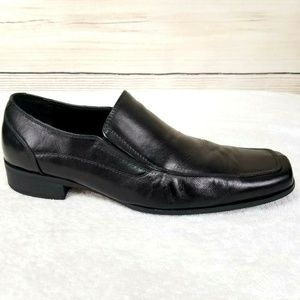 Steve Madden Evente  Leather Slip On Loafers Shoes